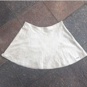 NEW Abercrombie Faux Suede Circle Skater Skirt